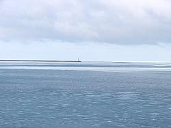 2007-01-27 沿岸の海が凍り始めた